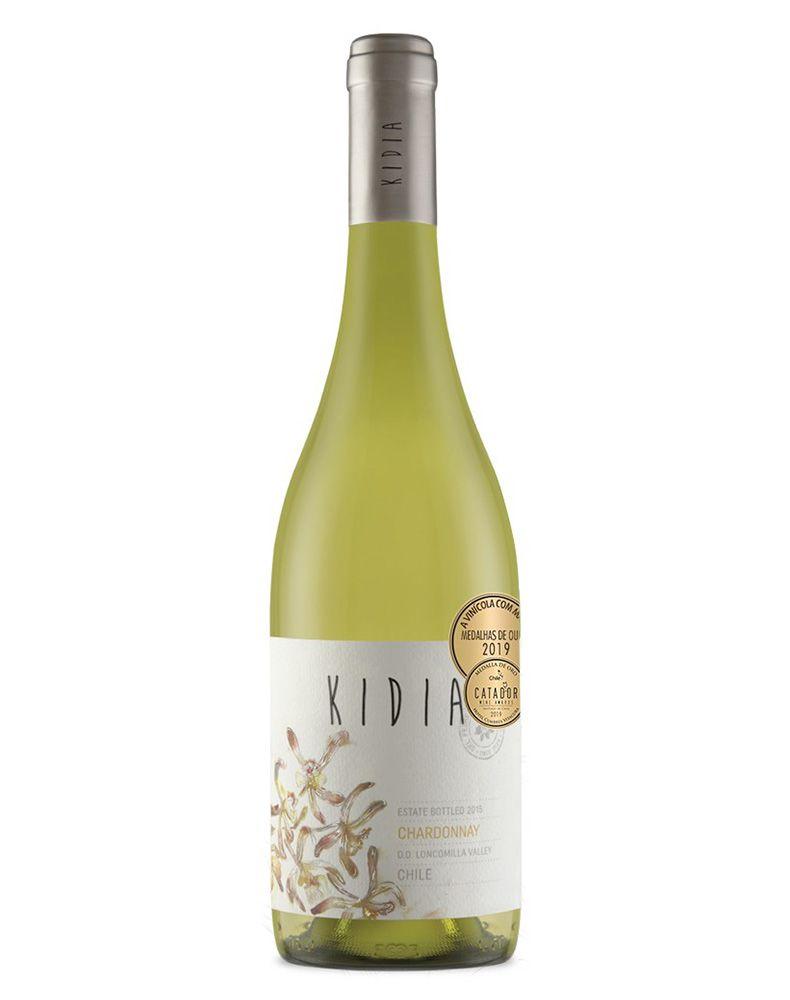 Vinho Branco Kidia Chardonnay D.O. Vale do Loncomilla 2019