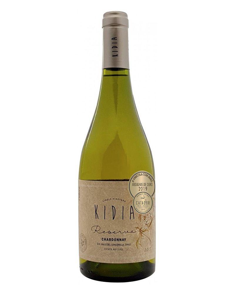 Vinho Branco Kidia Reserva Chardonnay D.O. Vale do Loncomilla 2018