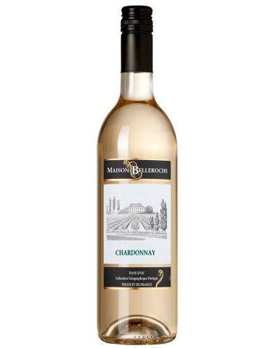 Vinho Branco Maison Belleroche Chardonnay I.G.P. Pays d'Oc