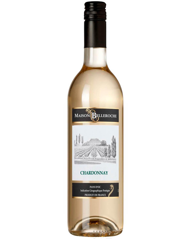 Vinho Branco Maison Belleroche Chardonnay I.G.P. Pays d'Oc 2016
