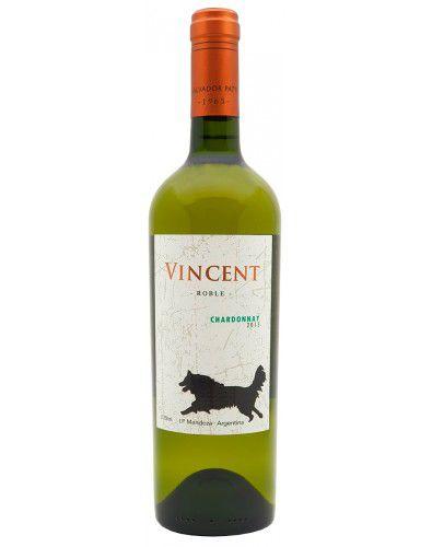 Vinho Branco Vincent Chardonnay I.P. Mendoza 2015