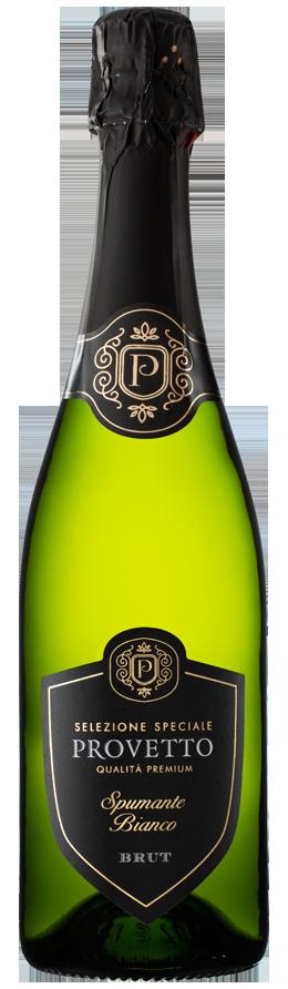 Vinho Espumante Branco Provetto Brut Viura/ Airen