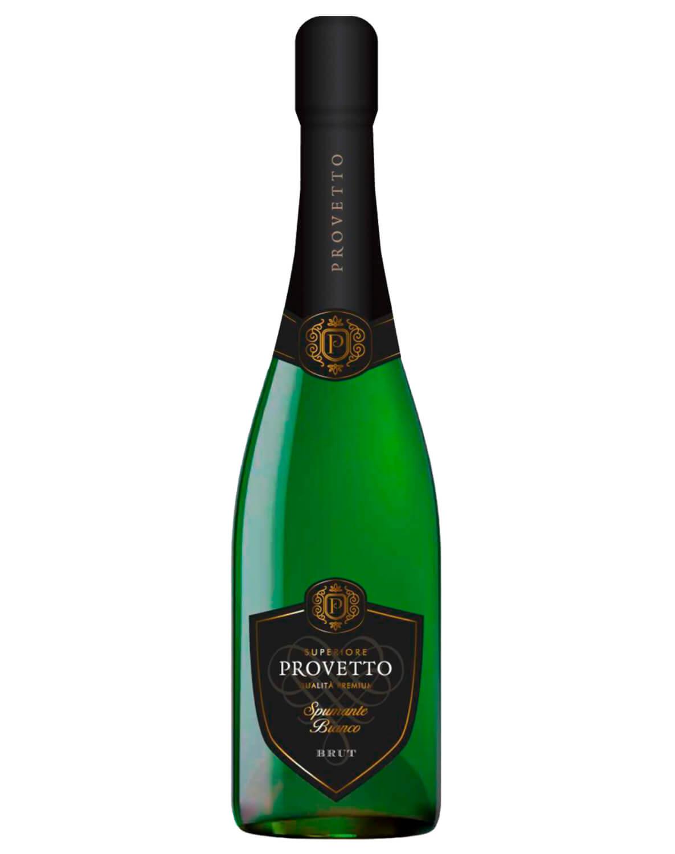 Vinho Espumante Natural Branco Brut Provetto Airen