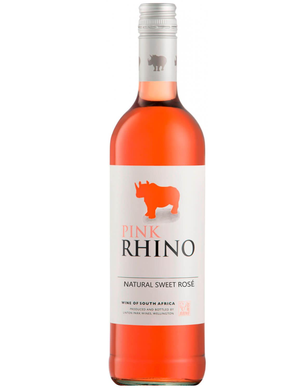 Vinho Pink Rhino Natural Sweet Rosé