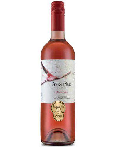 Vinho Rosé Aves Del Sur Merlot Rosé 750ml