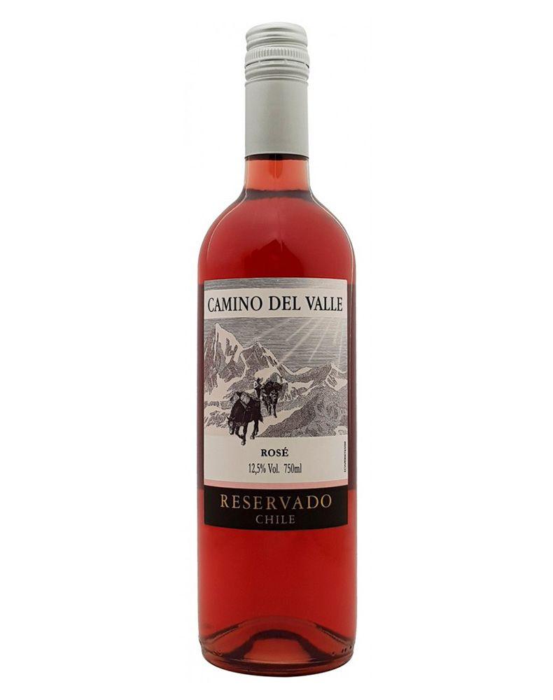 Vinho Rosé Camino Del Valle Reservado Syrah 2018