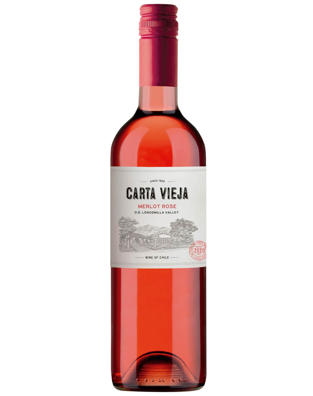 Vinho Rose Carta Vieja Merlot Rose 2020