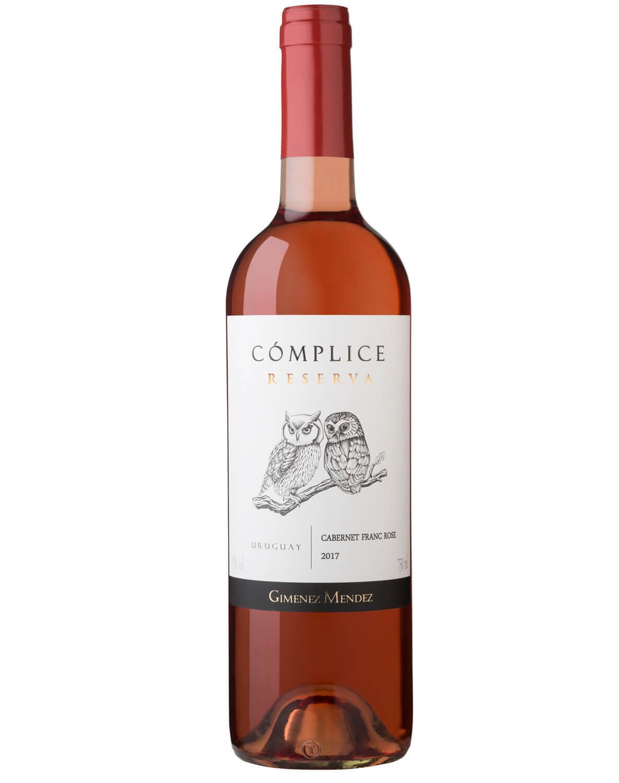Vinho Rosé Cómplice Reserva Cabernet Franc 2017