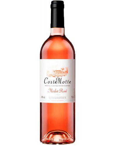 Vinho Rosé Coste Motte I.G.P. Merlot Rosé