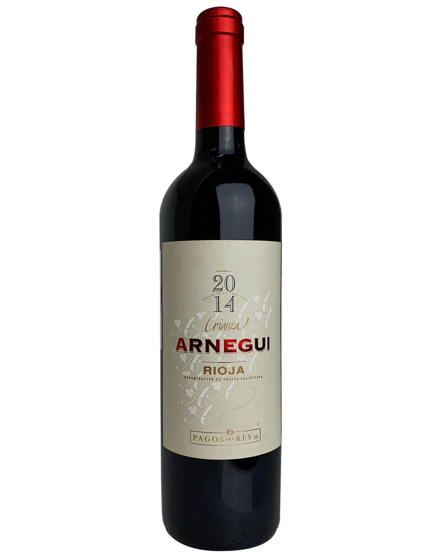 Vinho Tinto Arnegui Crianza Tempranillo DOC Rioja 2014