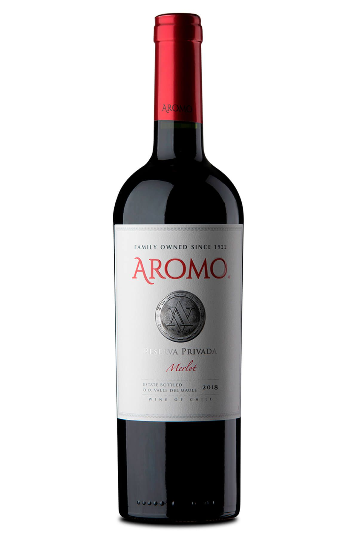 Vinho Tinto Aromo Reserva Privada Merlot 2018