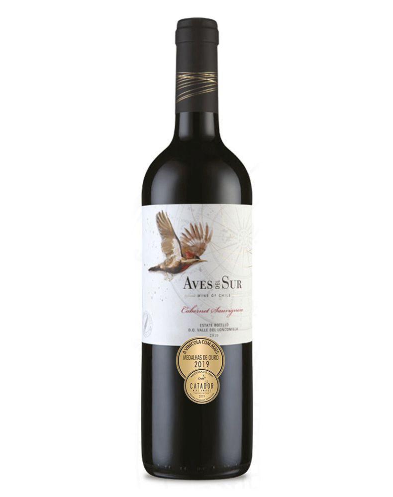 Vinho Tinto Aves Del Sur Cabernet Sauvignon D.O. Vale do Loncomilla