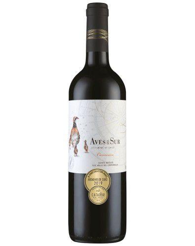 Vinho Tinto Aves Del Sur Carménère 2019