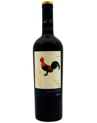 Vinho Tinto Aves Del Sur Reserva Merlot 2016