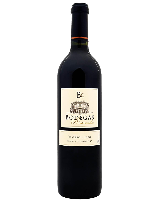 Vinho Tinto Bodegas Reservadas Malbec 2020