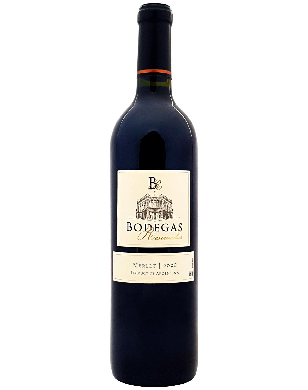 Vinho Tinto Bodegas Reservadas Merlot 2020
