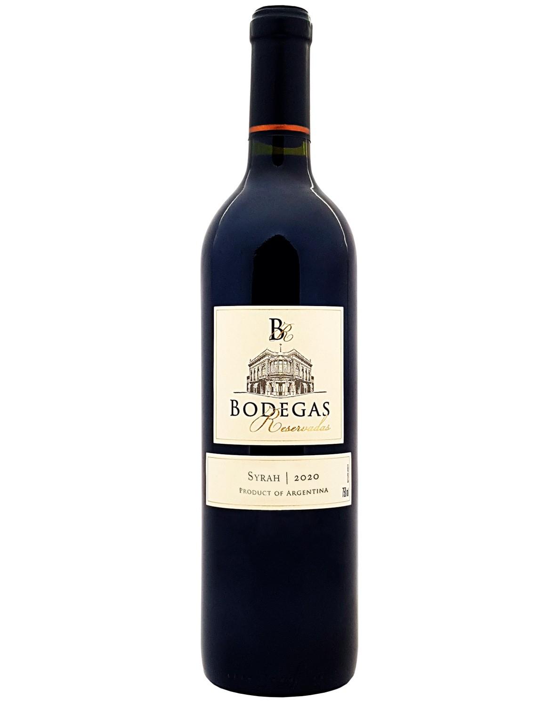 Vinho Tinto Bodegas Reservadas Syrah 2020