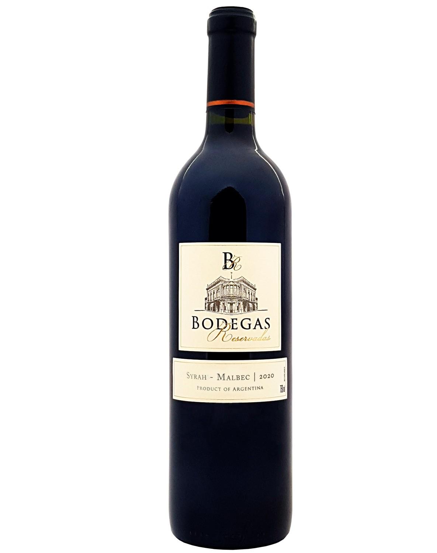 Vinho Tinto Bodegas Reservadas Syrah Malbec 2020