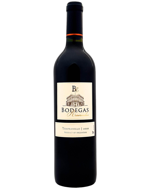 Vinho Tinto Bodegas Reservadas Tempranillo 2020