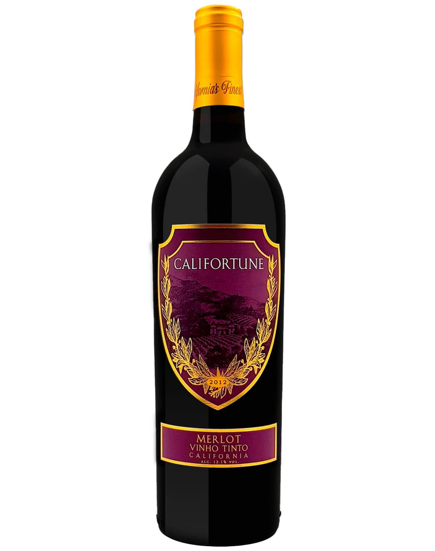 Vinho Tinto Califortune Merlot 2012