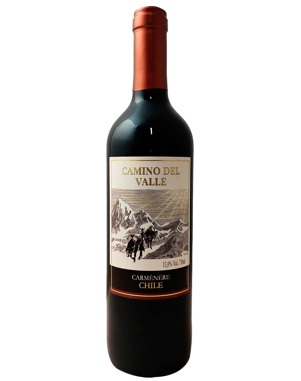 Vinho Tinto Camino Del Valle Carmenere 2020