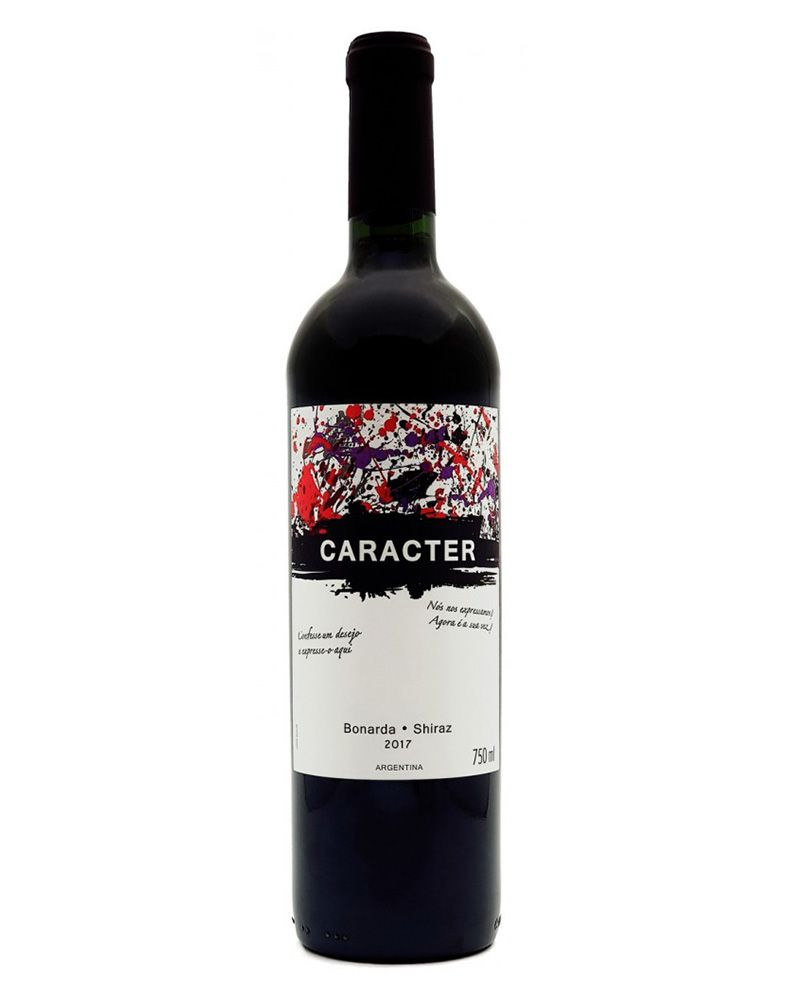 Vinho Tinto Caracter Bonarda Shiraz 2017