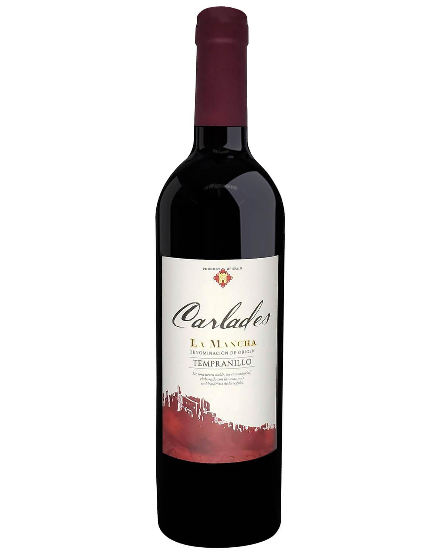 Vinho Tinto Carlades Tempranillo D.O. La Mancha
