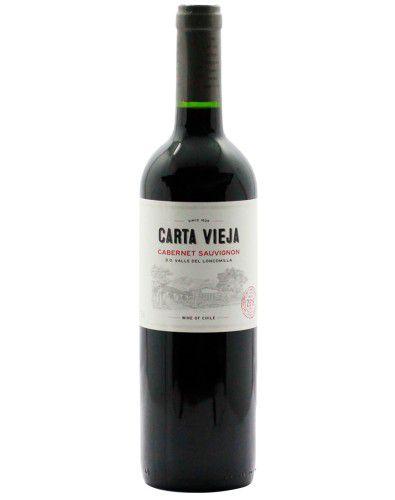 Vinho Tinto Carta Vieja Cabernet Sauvignon D.O. Vale do Loncomilla 2019