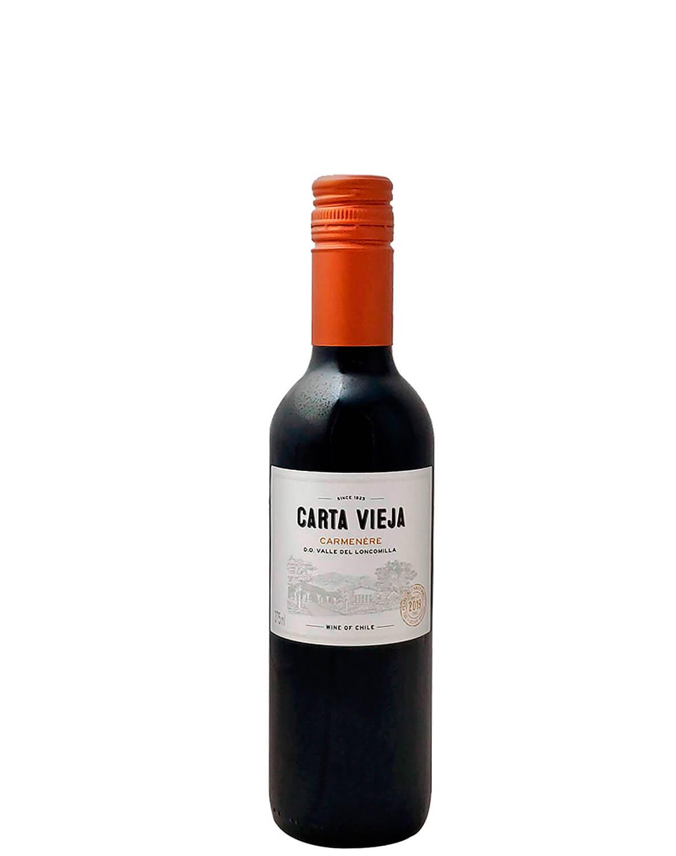 Vinho Tinto Carta Vieja Carménère D.O. Vale do Loncomilla 2019