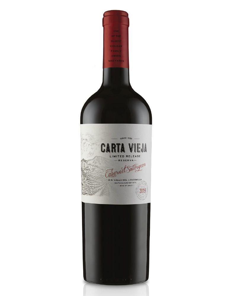 Vinho Tinto Carta Vieja Limited Release Reserva Cabernet Sauvignon D.O. Vale do Loncomilla Batudahue Estate 2015
