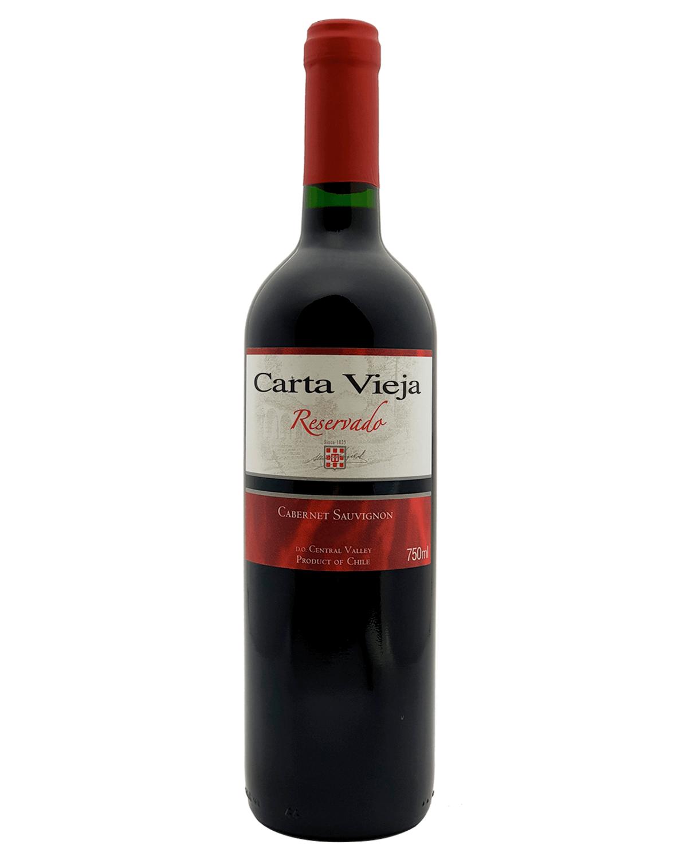 Vinho Tinto Carta Vieja Reservado Cabernet Sauvignon 2019