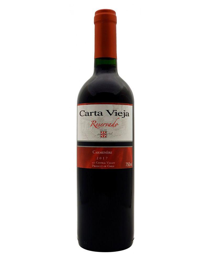 Vinho Tinto Carta Vieja Reservado Carménère 2017