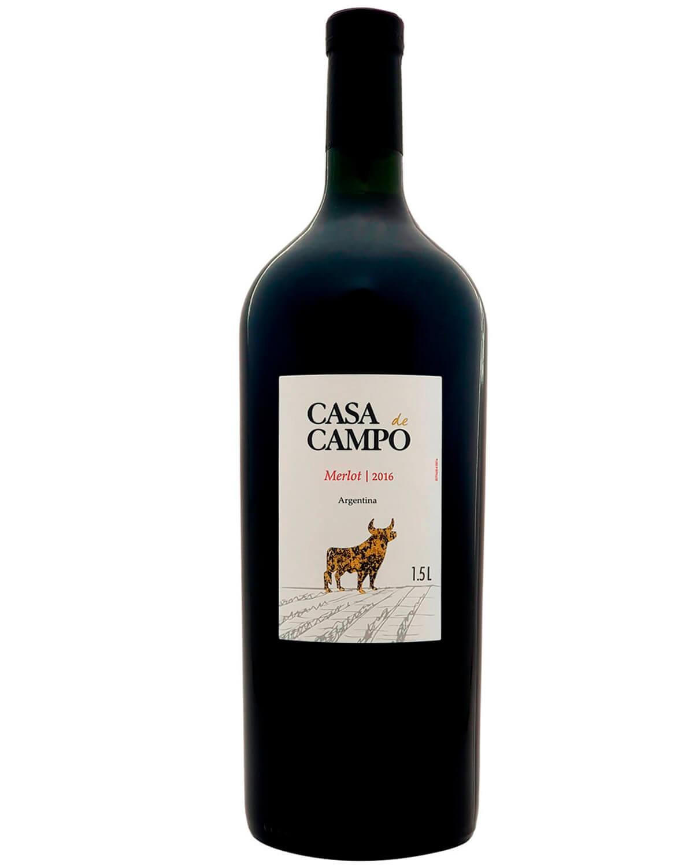 Vinho Tinto Casa de Campo Merlot 2016