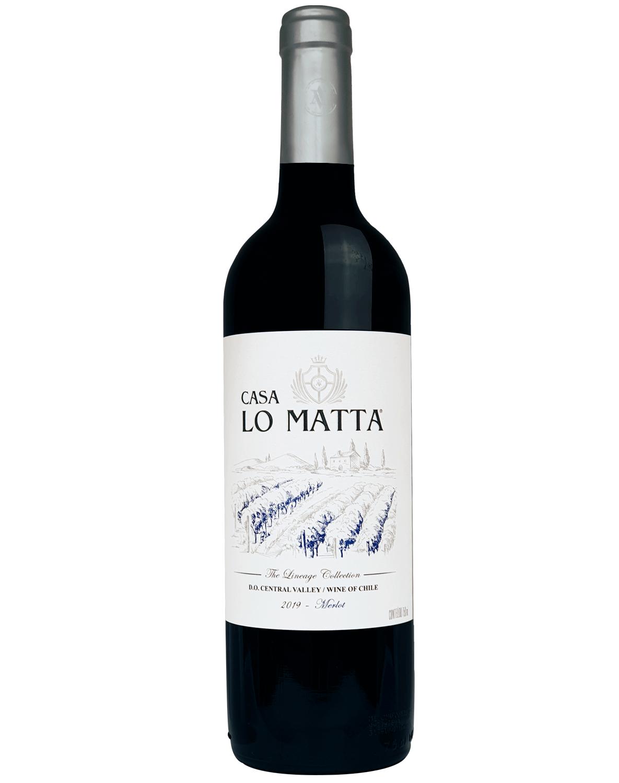 Vinho Tinto Casa Lo Matta Merlot 2019