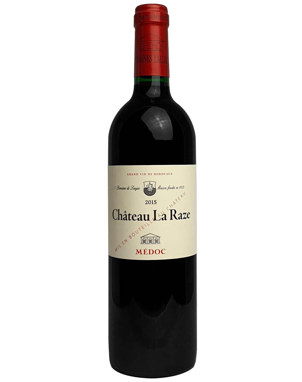 Vinho Tinto Château La Raze A.O.C. Médoc Gran Vin de Bordeaux 2015