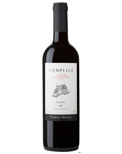 Vinho Tinto Cómplice Estate Collection Tannat 2016