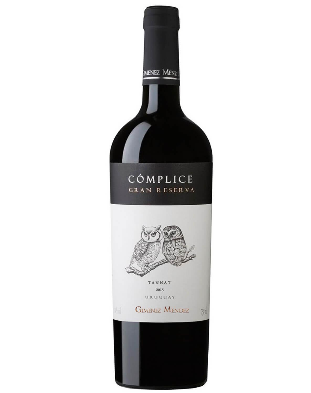 Vinho Tinto Cómplice Gran Reserva Tannat 2015