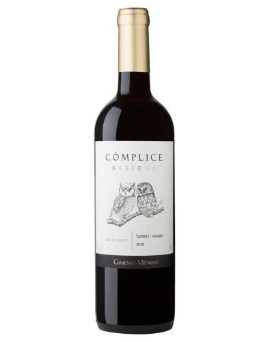 Vinho Tinto Cómplice Reserva Tannat/ Malbec