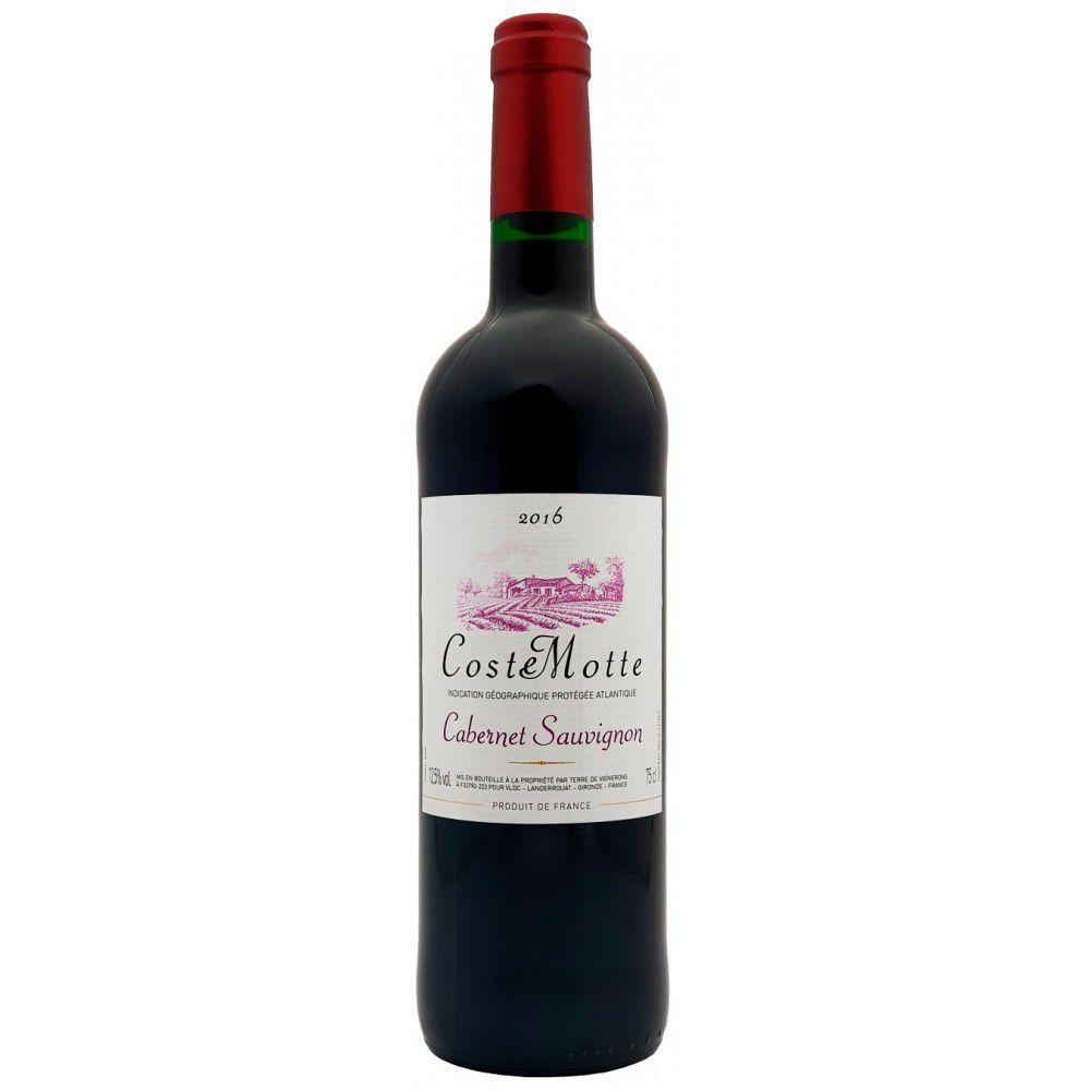 Vinho Tinto Coste Motte I.G.P. Cabernet Sauvignon 2016