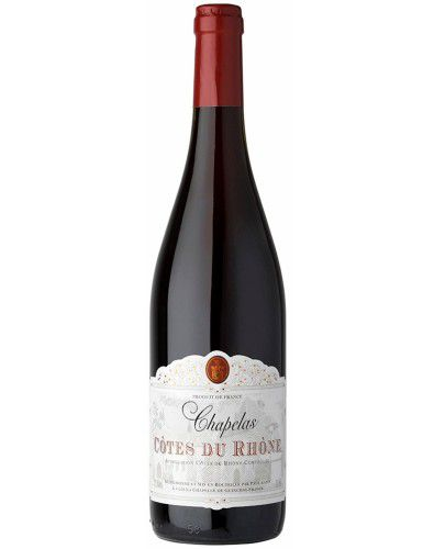 Vinho Tinto Côtes Du Rhône Chapelas