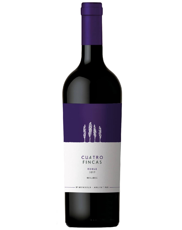 Vinho Tinto Cuatro Fincas Malbec 2017