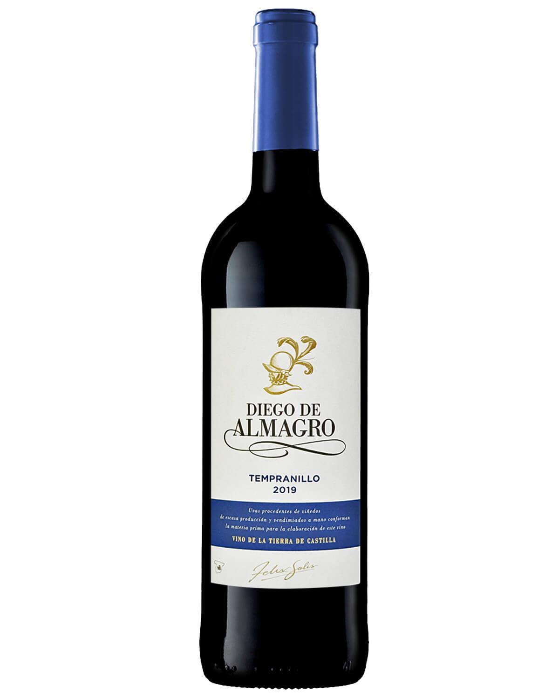 Vinho Tinto Diego Almagro Tempranillo 2019