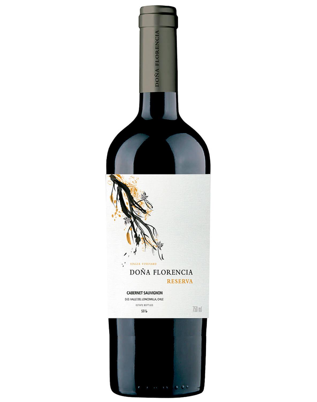 Vinho Tinto Doña Florencia Reserva Cabernet Sauvignon D.O. Vale do Loncomilla 2016
