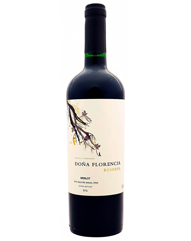 Vinho Tinto Doña Florencia Reserva Merlot D.O. Vale do Maule 2016