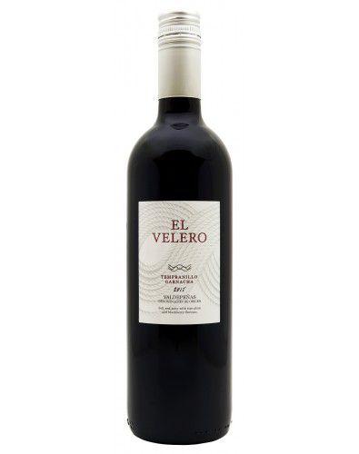 Vinho Tinto El Velero Tempranillo/ Garnacha D.O. Valdepeñas 2015
