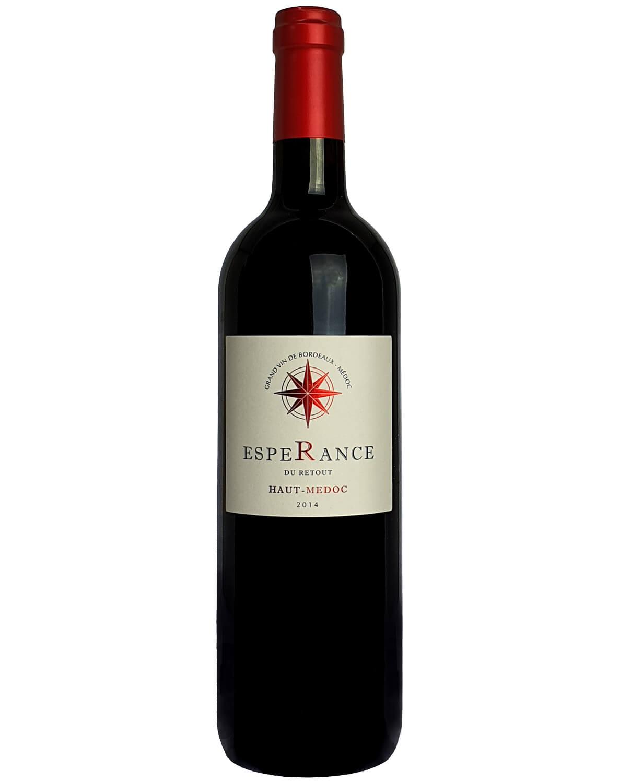 Vinho Tinto Esperance Du Retout A.O.C. Haut-Médoc Grand Vin de Bordeaux 2014