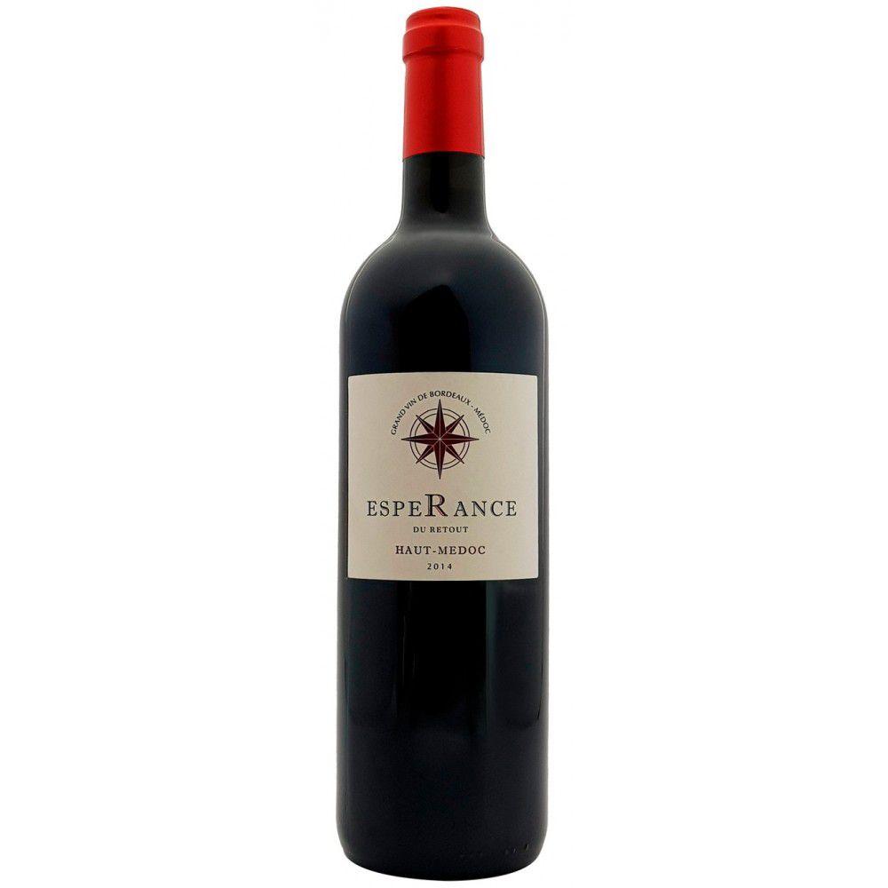 Vinho Tinto Esperance Du Retout A.O.C. Haut-Médoc Grand Vin de Bordeaux