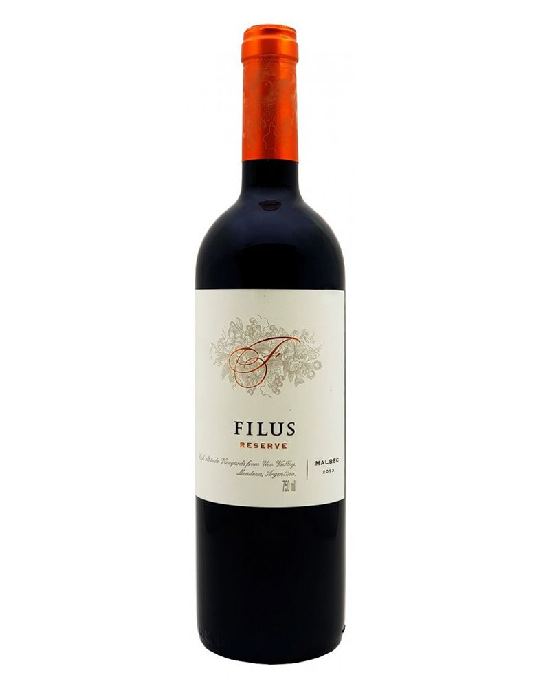 Vinho Tinto Filus Reserve Malbec 2013