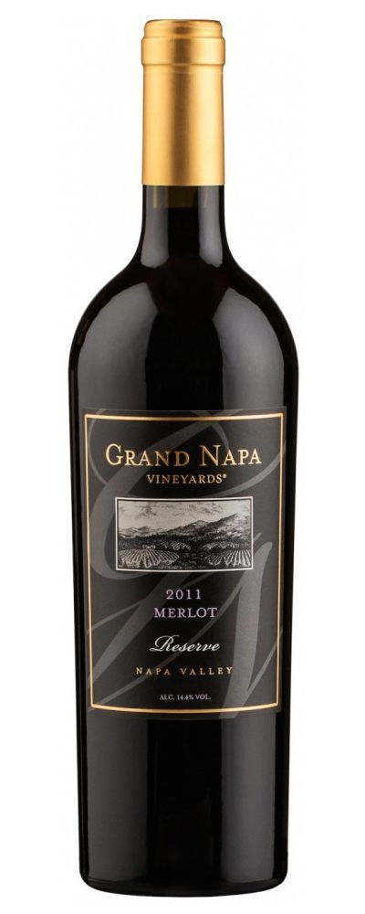 Vinho Tinto Grand Napa Vineyards Merlot Reserve