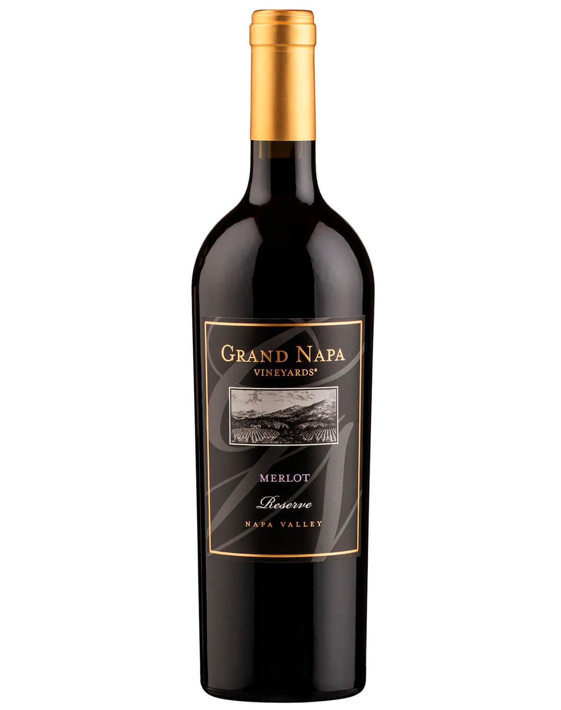 Vinho Tinto Grand Napa Vineyards Merlot Reserve